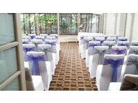 Chair Cover Hire - Weddings / Parties