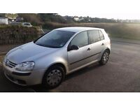 2008 vw golf. 1.9 tdi. Selling for £2800 or swap for 6 seater van