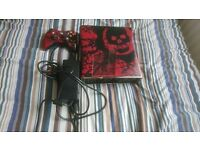 320GB Gears Of War Xbox 360 with games.