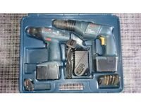 Bosch Professional 12v Cordless twin pack drill/driver