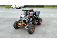 2005 BOMBARDIER DS650 ROAD LEGAL QUAD BIKE, FASTER THAN YAMAHA RAPTOR 660, SWAP ANYTHING CONSIDERED
