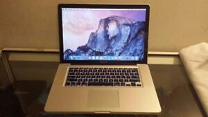 Used 2010 15 Macbook Pro with Intel Core i5 Processor, Webcam and Wireless for Sale
