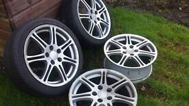CIVIC TYPE R ALLOY WHEELS. £140.00 ono