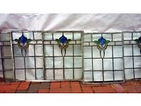 old leaded/stained windows