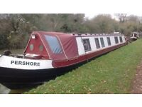 56ft Live aboard Narrow boat