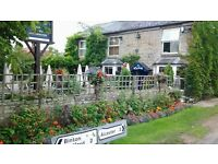 Experienced Bar/waiting Staff required in Warwickshire country inn