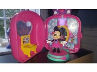 Minnie dressing room with lights & sound