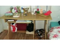 Large glass and wood desk for only £20each