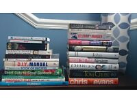 Book Bundle, True Crime, Biography, & Fiction. Will split.