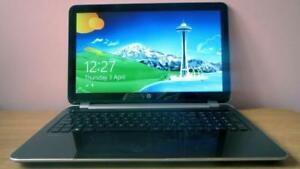 "HP TouchSmart 15 P187CA, 500 GB, 15"" Touch, AMD  2.10 GHz, 8 GB RAM"