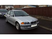 bmw 318i se spares or repaires mot'd September 2017 good runner good on fuel front, spring broke...