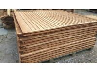 Fence panels 6ftx4ft