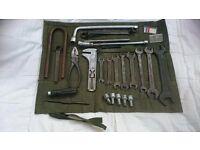 Vintage Mercedes Benz tool kit 190 sl Ponton w120 w109 w111 220 Se w107 w108 for best offer