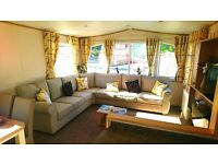 STATIC CARAVAN FOR SALE DG / CH SCOTLAND NR GIRVAN 1 HR FROM AYR TROON SALTCOATS GLASGOW KILMARNOCK