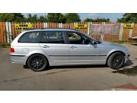 2001 ON P/PLATE BMW 325iSE TOURING MSPORT REPLICA