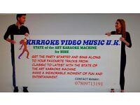 Karaoke equipment for hire