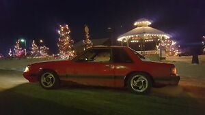 1991 notchback Ford Mustang for sale or trade for Honda/Acura