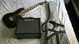 Kids (3/4) Ibanez guitar & Blackstar amp