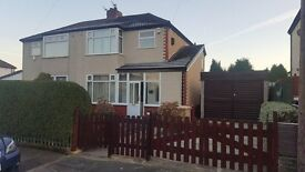 3 bedroom semi detached family home Kingsland Road Bolton
