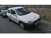 Vauxhall corsa trip