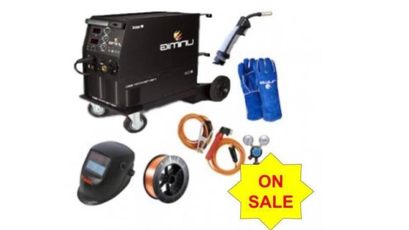 UniMIg 250K-SG MIG-TIG-MMA Inverter Welder Package | Power Tools ...