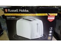 Russell Hobbs 21641 Textures White 2 Slice Toaster