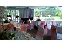 Venue Styling - CHAIR COVERS from 70p / BALLOON PACKAGES £59 / CENTREPIECES! LONDON / ESSEX / KENT