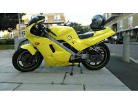 Stolen! All YELLOW Honda VFR400 in east London