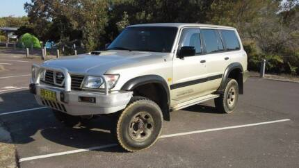Nissan Patrol lwb turbo diesel auto lpg injected Newcastle 2300 Newcastle Area Preview