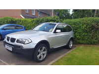 2004 BMW X3 SUV E83 3.0 i SPORT 5DR AUTO, ONLY 91K GUARENTEED MILAGE, 11 MONTHS MOT, LADY OWNER,