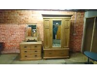 Top quality solid wood furniture, wardrobe and mirrored drawers, high end furniture