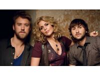 Lady antebellum tickets London 10th October