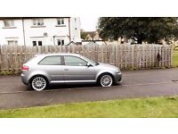 Audi A3 Quattro S line full leather interior