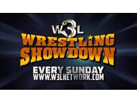 Sunday August 5th W3L Wrestling Showdown Berwick Upon Tweed