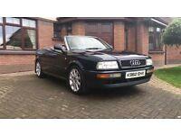 1992 Audi 90 Convertible Classic Car Full Year M.O.T 137,000 Miles