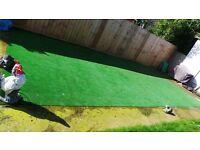 Artificial Grass 4m x 8m (3.7m x 7.85m) - open to offers