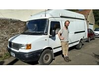 Young Man & Old Van-- Removals, Student Moves, Garden waste collection, Trips to IKEA