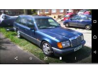 Mercedes w124 230te with long mot, running perfectly