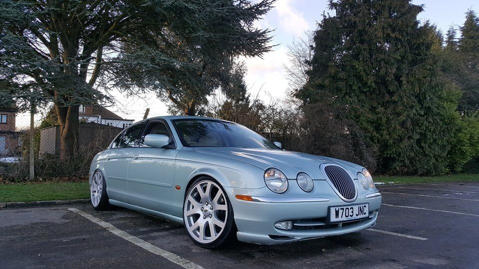 jaguar s type 4 0 v8 stanced oem swap in rochester. Black Bedroom Furniture Sets. Home Design Ideas