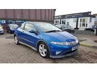 """STUNNING"" HONDA CIVIC TYPE S GT (2006) - 3 DOOR - LOW MILEAGE- NEW MOT - F.S.H HPI CLEAR!"