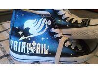 FAIRYTAIL Canvas Shoes