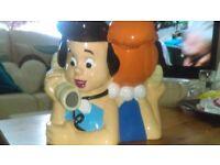 Rare warner brothers collectable cookie jar Flintstones betty & wilma phone