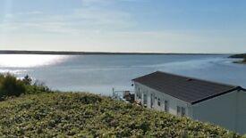 3 bedroom caravan with sea view and veranda at Littlesea Weymouth