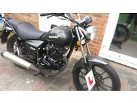 Lexmoto 125 - 2016. ONLY 1886 miles from new. FSH £500 O.N.O