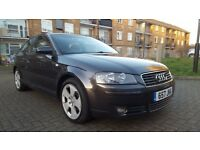 AUDI A3 SPORTBACK 2.0 TDI 6 SPEED MANUAL FULL SERVICE HISTORY 10 MONTHS MOT RED LEATHER INERIOR