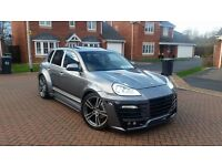 POSCHE CAYENNE 4.5S XCLUSIVE 957 FACELIFT WIDE ARCHE GT550 GEMBALLA CONVERSION LPG GAS CONVERTED