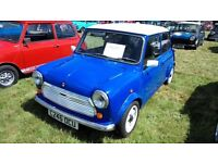 Classic Mini 1986 no rust fully restored and repainted.