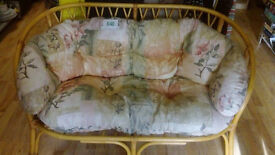 Lovely Wicker Sofa and Chair