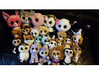 Ty Beanie Boos lots for sale please see photos soft toy plush