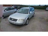 2005 VOLKSWAGEN PASSAT HIGHLINE 1.9 TDI 130 ESTATE MANUAL 2 OWNERS FSH TOWBAR
